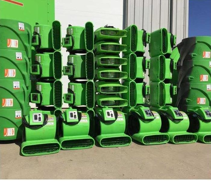 Why SERVPRO What Are All These Green Machines