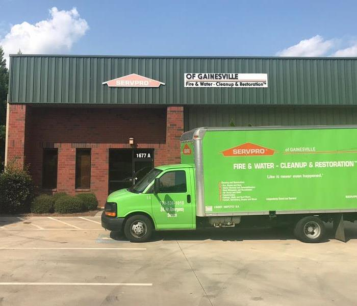 General For Immediate Service in Hall County Call SERVPRO